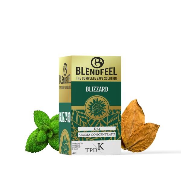 Blendfeel Blizzard - K-TPD 4 mL K-TPD 10 mL aroma concentrado 4 mL