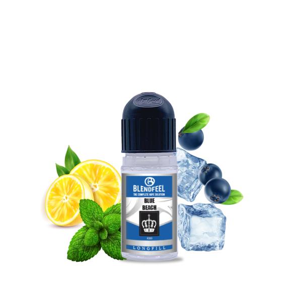 Blendfeel Blue Beach - Aroma concentrado 10 + 20 mL aroma 10 mL