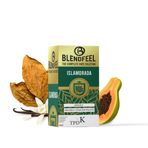 Blendfeel Islamorada - K-TPD 4 mL K-TPD 10 mL aroma concentrado 4 mL