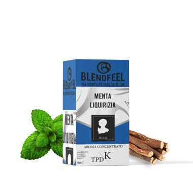 Blendfeel Menta Liquirizia - K-TPD 4 mL K-TPD 10 mL aroma concentrado 4 mL