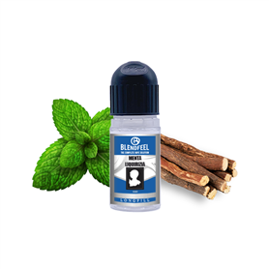 Blendfeel Menta Liquirizia - Aroma concentrado 10 + 20 mL aroma 10 mL