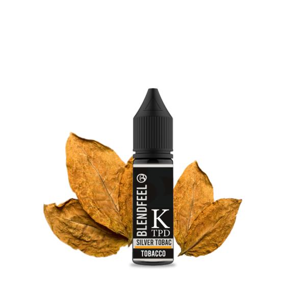 Blendfeel Silver Tobac - K-TPD 4 mL K-TPD 10 mL aroma concentrado 4 mL