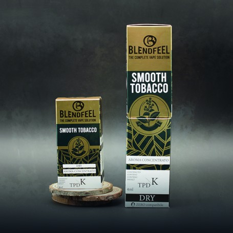 Blendfeel Smooth Tobacco - K-TPD 4 mL K-TPD 10 mL aroma concentrato 4 mL