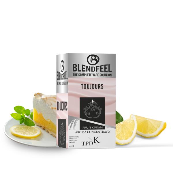 Blendfeel Toujours - K-TPD 4 ml K-TPD 10 mL aroma concentrado 4 mL