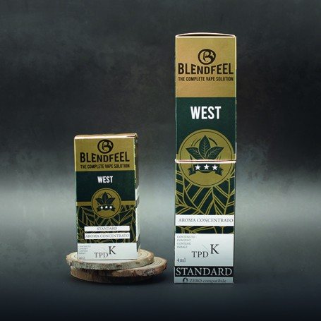 Blendfeel West - K-TPD 4 mL K-TPD 10 mL aroma concentrato 4 mL